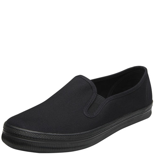 womens city sneaks gilly canvas slip on payless